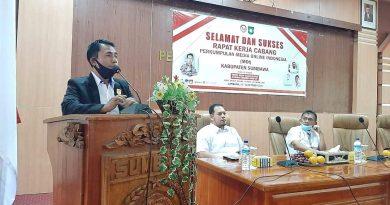 Hadiri Rakercab DPC MOI Sumbawa, Korwil MOI Bali Nusra : MOI dan Pemerintah Tidak Dapat Terpisahkan