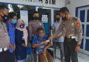 Satlantas Polres Sumbawa Bantu SIM Gratis Bagi Penyandang Disabilitas