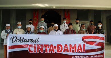 Pimpinan dan Pengurus Pondok Pesantren Lombok Barat, Sampaikan Komitmen Dukung Lombok Barat Aman dan Damai