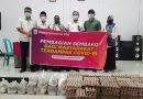 Koperindag Sumbawa Barat Distribusikan 1.533 Paket Sembako Untuk Warga Terdampak Covid -19