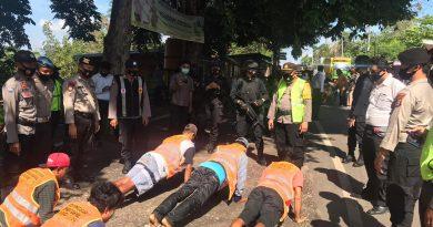 Tekan Penyebaran covid19, Polres Dompu gencar Operasi yustisi