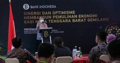 Bank Indonesia Punya Andil Besar Pulihkan Ekonomi NTB Yang Inklusi
