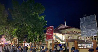 Pengamanan Debat Publik Kedua, Polres Dompu Kerahkan 250 personel