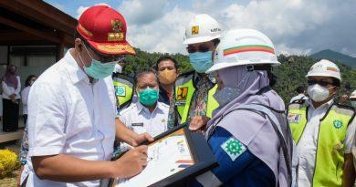 Gubernur Yakin Pembangunan Bendungan Meninting Selesai Sesuai Target