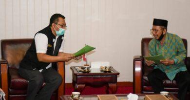 Gubernur Sambut Baik Program DMI NTB dalam Bidang Pendidikan dan Ekonomi Syariah