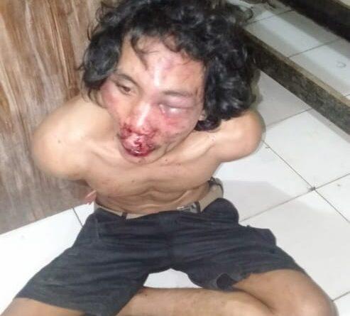 Nekat merampok di Kios Warga, Pria ini nyaris tewas dihakimi massa