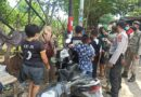 Wujudkan Kamtibmas Polres Sumbawa Bersama Sat Pol PP Patroli dan Cegah Penyebaran Covid-19