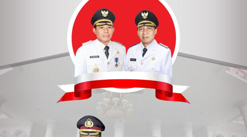 Kapolres Sumbawa Barat Ucapkan Selamat Atas Pelantikan Bupati dan Wakil Bupati Sumbawa Barat Periode 2021 – 2026