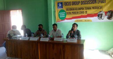 SPR Lotim Sosialisasi Potensi Limbah Jagung Untuk Pakan Ternak kepada Petani Di Wilayah Poto Tano