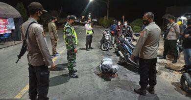 Antisipasi Pandemi Covid-19 Dan Jaga Kondusifitas Wilayah KSB, Tim Gabungan Kembali Gelar Patroli Bersama
